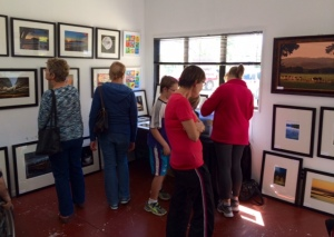 Lots of interest in KCPS at the Arts Trail on Saturday