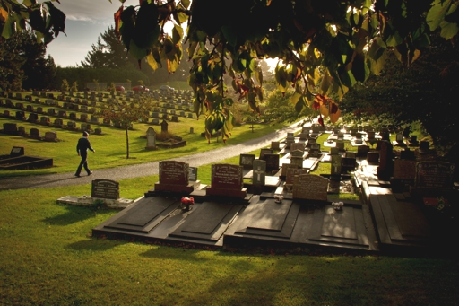 """Anzac Day Otaki Cemetery"" - Highly Commended, Intermediate Digital Image - ©Colin McKenzie"