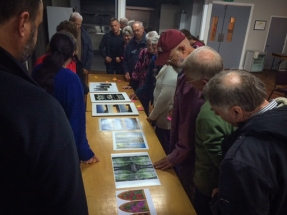 Selecting the Triptych Print