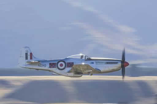 """P-51D Mustang"" - Honours, Intermediate Digital Image - ©Barry Culling"