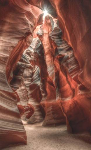 """Upper Antelope Canyon"" - Highly Commended, Advanced Print - ©Neil Gordon"
