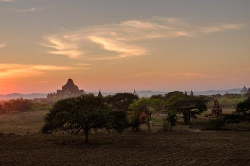 Sunset, Old Bagan